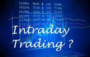 Intraday type of stock trading